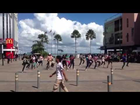 sandakan harbour mall dance