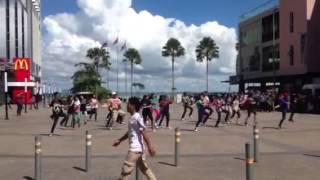 sandakan harbour mall dance