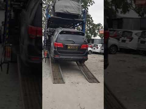 Car carrier loading tujuan medan - banda aceh