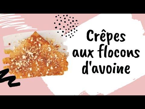 crêpes-aux-flocons-d'avoine-كريب-بالشوفان-لذيذ-صحي-وناجح-100%