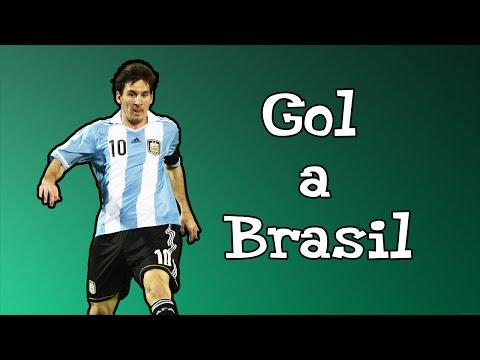 El Mejor Gol De Messi Con La Seleccion Argentina | Mini Edición