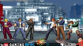 King of Fighters 2003 Online Casuals - PathlessNinja (USA) vs. diegokets98 (Brazil) - Fightcade
