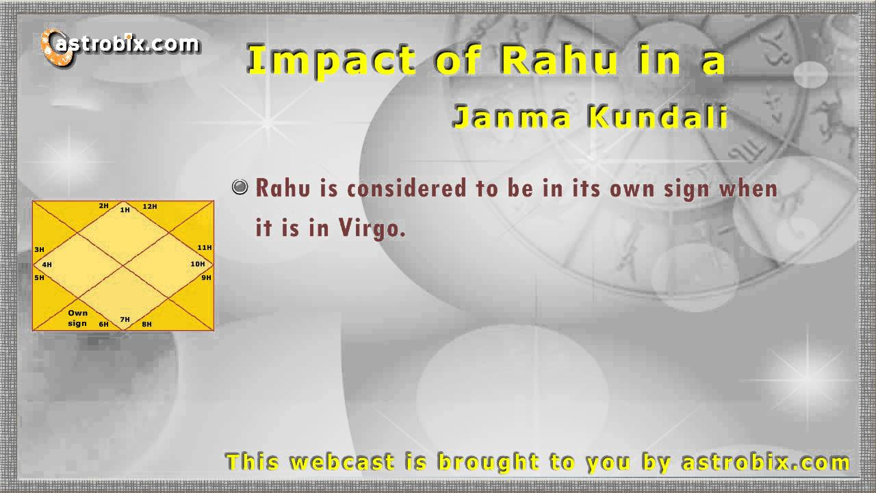 Significance of Rahu In Love Marriage