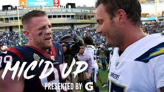"Philip Rivers Mic'd Up vs. Texans, ""He's the new Clowney!"" | NFL Mic'd Up"