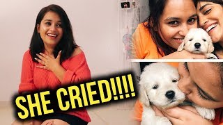 GIFTING MY BFF A PUPPY!!!