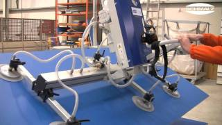 Vacuum Lifting Device Vacumaster Basic For Swivelling Wooden Sheets By 90 Degrees | Schmalz