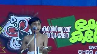 Aravind Kadhakali Sangeetham - Yuvajanolsavam Kasaragod District