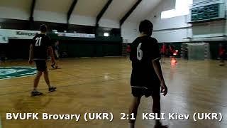 Handball. U17 boys. Sarius cup 2017. BVUFK Brovary (UKR) - KSLI Kiev (UKR) - 7:7 (1st half)