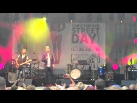 Christopher Street Day in Munich- Konzert von Markus und (Nena)