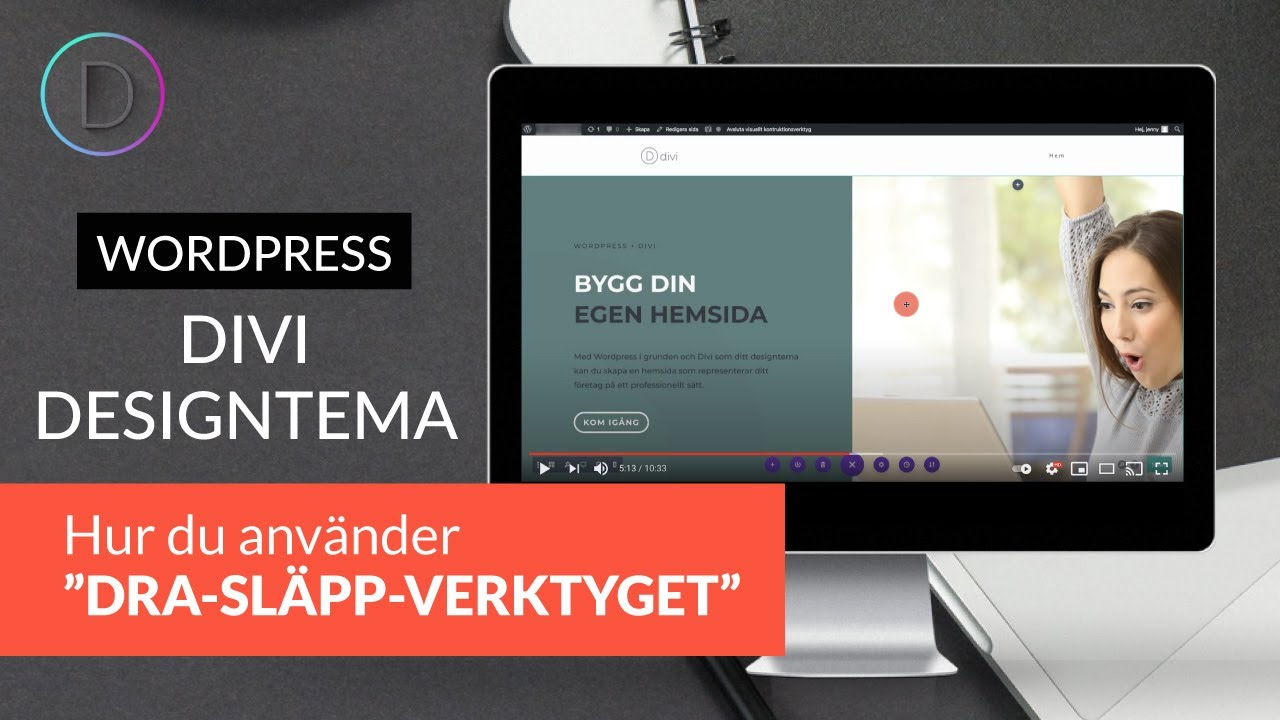 aa49d9bcac08 Skapa hemsida med wordpress - YouTube