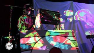 """Animal Collective performing """"Golden Gal"""" Live on KCRW"""