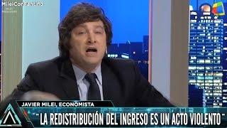 """""""Con el culo ajeno todos somos putos"""" Javier Milei en Animales Sueltos con Fantino- 14/03/18"""