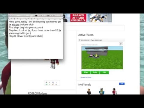 How to Get Free Robux on Roblox without Builders Club in Easy