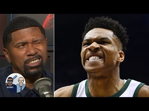 Jalen Rose to Giannis: 'Don't be so mean to my Pistons' | Jalen & Jacoby