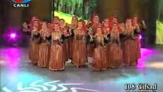 ÇANKIRI Yöresi Oyunları - TRT Altın Adımlar ( Giresun GİFSAD Grubu )
