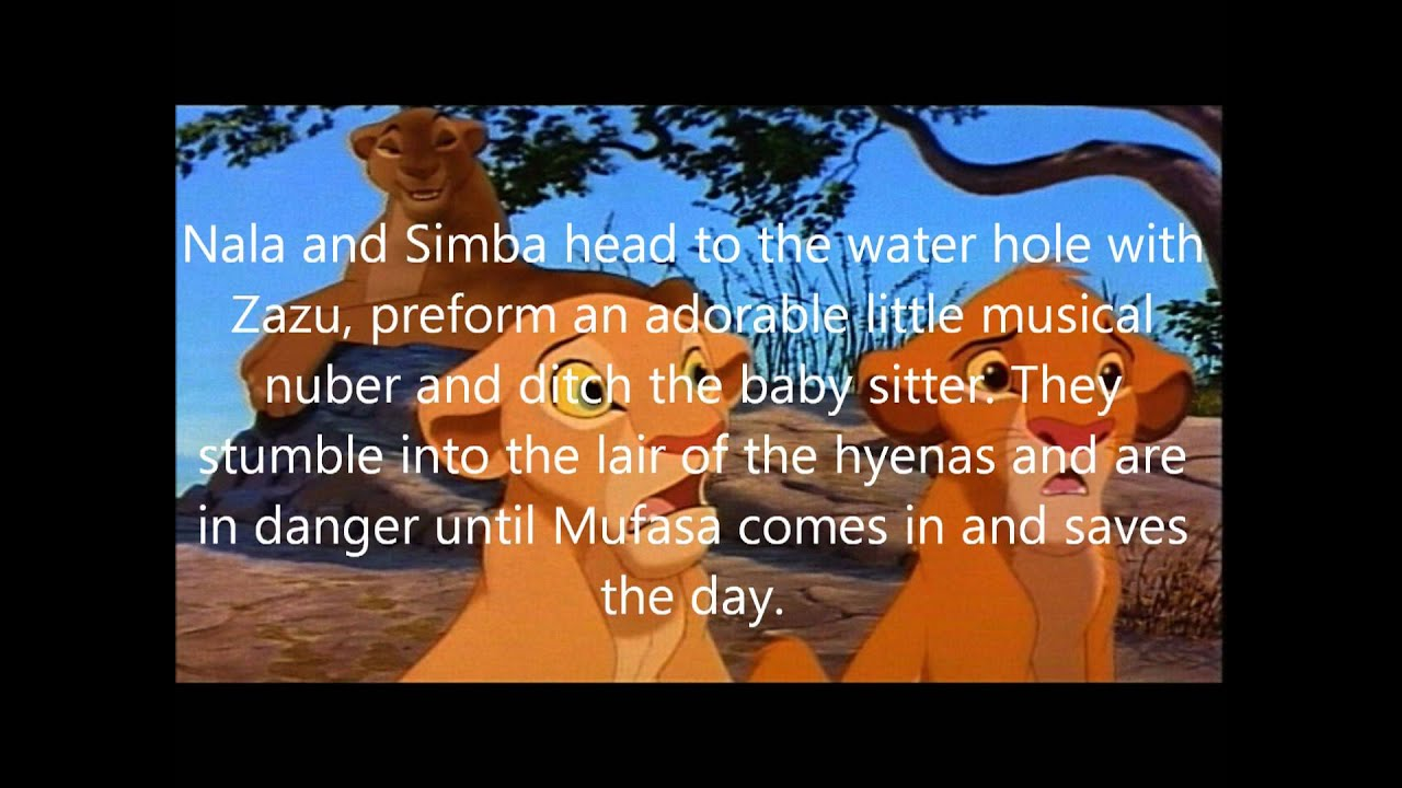 Summary the lion king