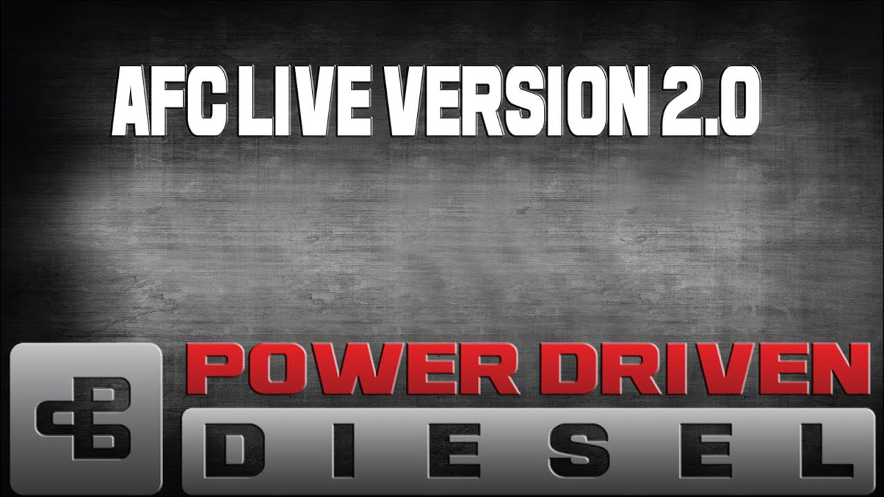 New & Improved AFC Live Stage 2 Diesel Tuning | Power Driven Diesel