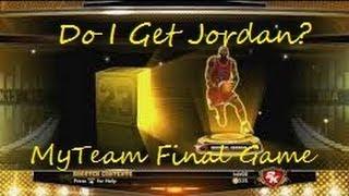 NBA 2K13 MyTeam |  Unlocking Michael Jordan! |  Gameplay!