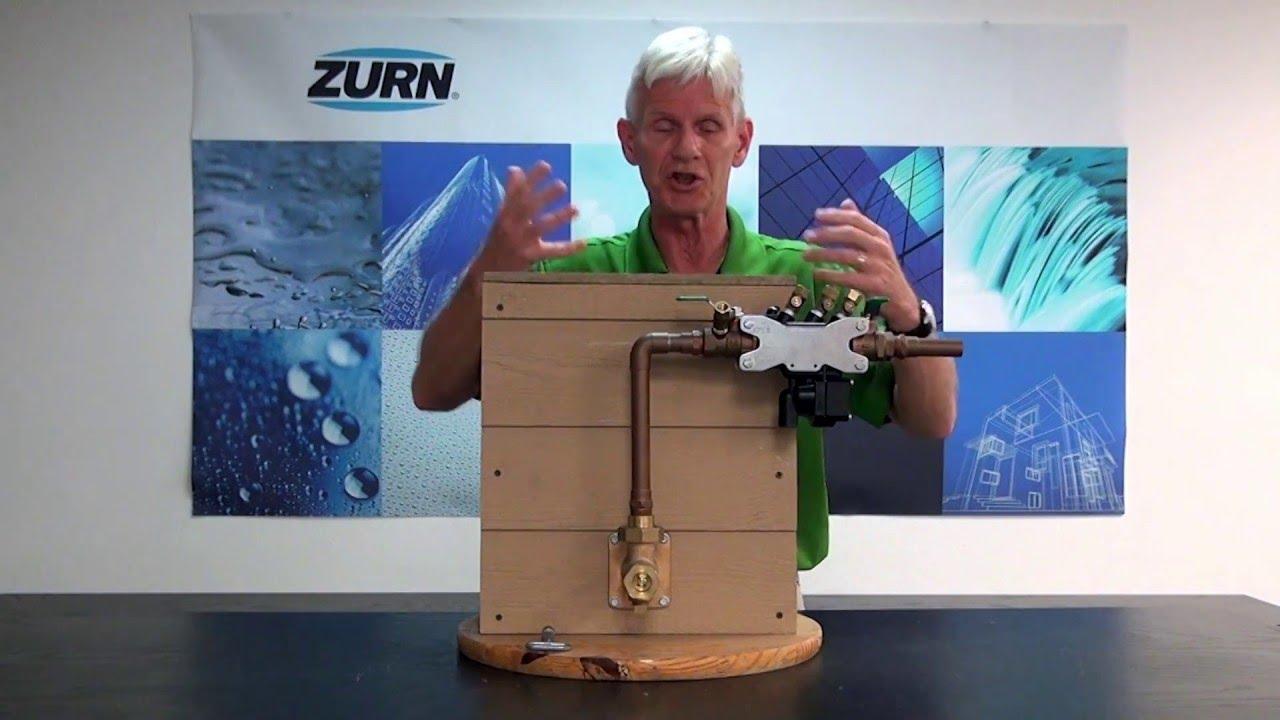Zurn Wilkins Backflow Prevention - How to Troubleshoot Relief Valve  Discharge