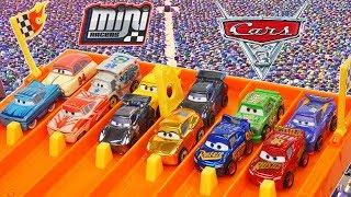 Disney Cars 3 MINI Racers Huge Collection Piston Cup Haulers Surprise Package!