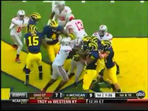 Ohio State vs. Michigan Fights and Brawls: The Best Rivalry In Sports History