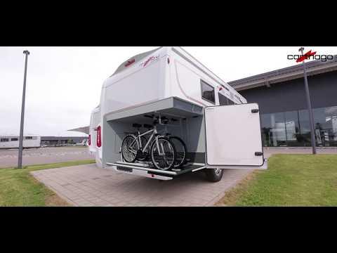 Der WoMo-Scout präsentiert die innovative Pedelec-Garage in den Carthago Reisemobilen 2018