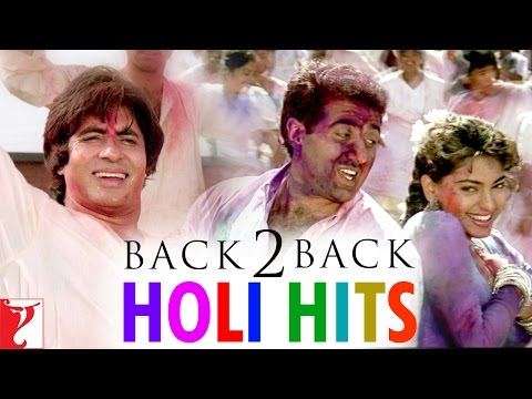 #Back2Back Holi Hits - Holi 2017 Special