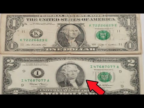 Price of Old United States Dollar Bill Notes Value, Old USA 1 Dollar Bill Note Value, 2 Dollar Bill