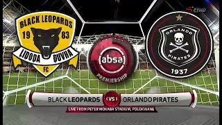 Absa Premiership 2018/19 | Black Leopards vs Orlando Pirates