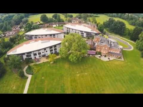 West Hall care home, West Byfleet, Surrey