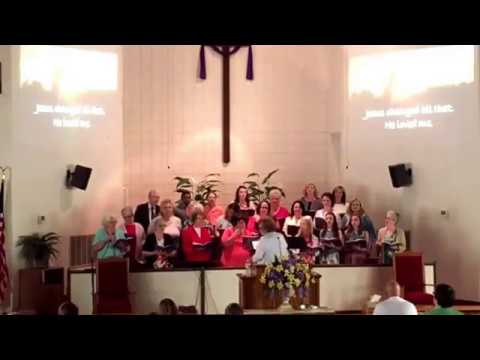 Easter Cantata & Service:  Amazing Love, How Can it Be:  4-16-17