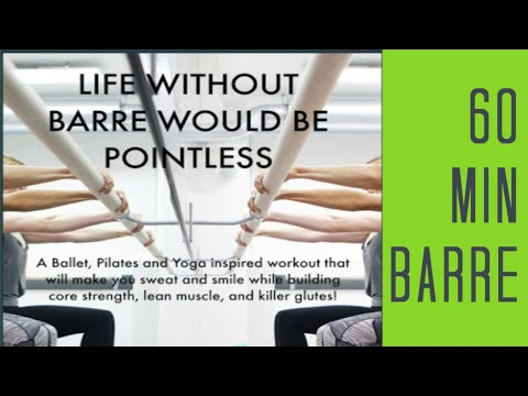 60 Min Barre Full Body Workout