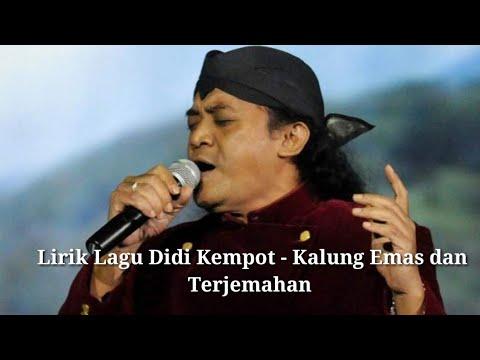 Chords For Didi Kempot Kalung Emas Lirik Lagu Terjemahan