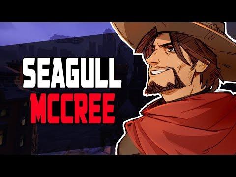 SEAGULL INSANE MCCREE! 57 KILLS! [ OVERWATCH SEASON 6 TOP 500 ]