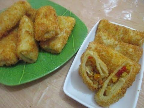 Resep Cara Membuat Risoles Isi Ayam Kentang Pedas Mantap
