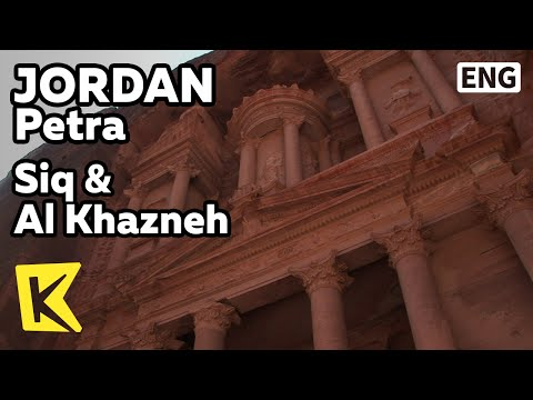 【K】Jordan Travel-Petra[요르단 여행-페트라]시크 협곡과 알카즈네 보물창고/Siq/Al Khazneh/Treasure/Warehouse/Sculpture/Stone
