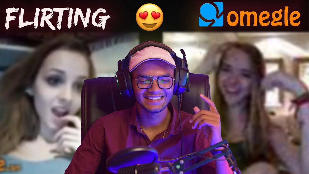 SHE IS MORE FLIRTY😍| FLIRTING WITH GIRLS ON OMEGLE GONE WRONG |FUNNIEST OMEGLE EVER😂 pt-15|Mr Siku