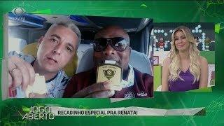 Tiago Nunes manda recado para Renata: Fica triste, não!