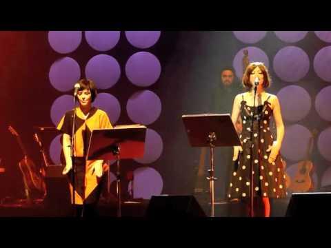 """""""Twiggy Twiggy"""" Maki Nomiya e Fernanda Takai em São Paulo(SESC Pinheiros) 25/06/2011"""