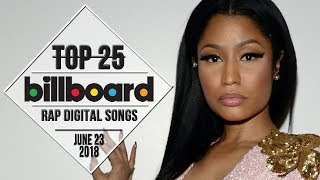 Baixar Top 25 • Billboard Rap Songs • June 23, 2018 | Download-Charts
