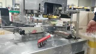 떡포장기계 떡포장기 마카롱포장기 소형삼면포장기