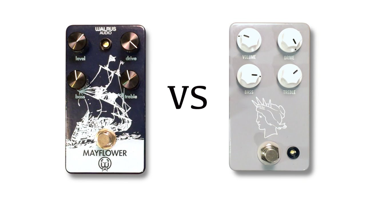walrus audio mayflower vs jhs pedals twin twelve youtube. Black Bedroom Furniture Sets. Home Design Ideas