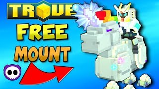 Get a FREE Prismatic Lasercorn Mount in Trove BEFORE December 18th, 2017 for PS4/Xbox One/PC