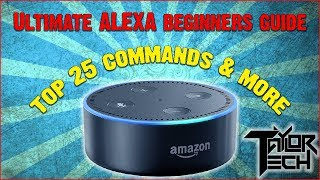 Alexa & Echo Beginners Guide! Set Up | Top Commands