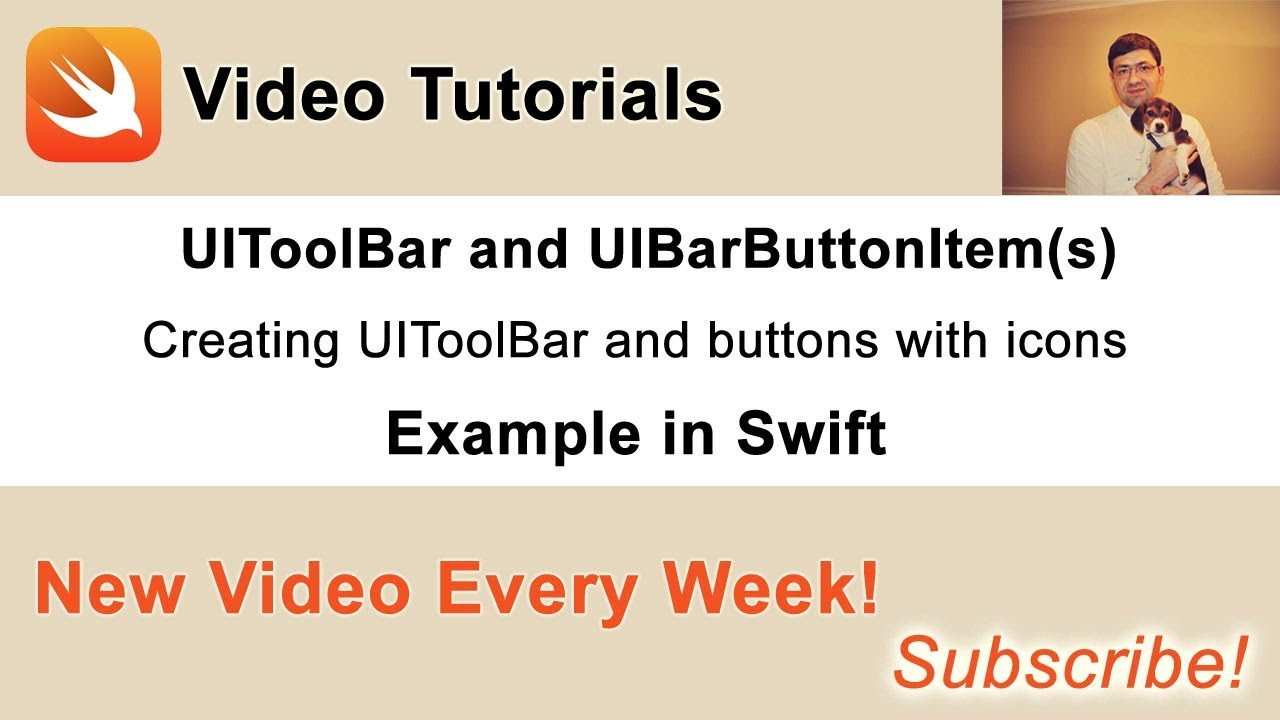 UIToolBar and UIBarButtonItem in Swift - Swift Developer Blog