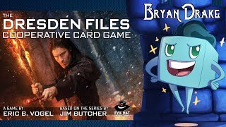 The Dresden Files Co Op Card Game Review with Bryan