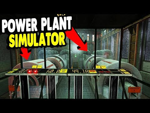HIGH VOLTAGE POWER PLANT SIMULATOR START UP, EXPLODES | Infra Gameplay