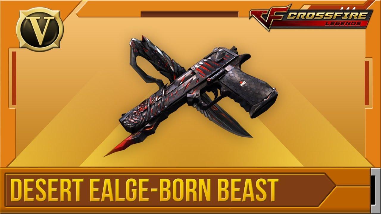 Wikia Crossfirelegends: Tổng Quan Desert Eagle-Born Beast
