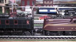 the march of the pennsy electrics mth premier o gauge electric locomotives in true hd 1080p