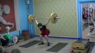 Пряничников Максим, 11 лет, вк 62 Рывок 45 кг